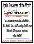 films on demand flyer